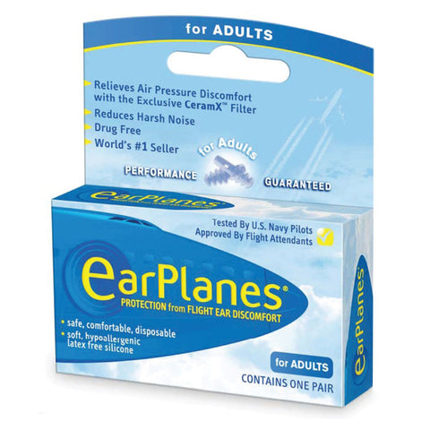 Cirrus Healthcare EarPlanes Adult - 1 Pair