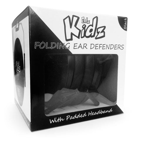 Edz Kids Ear Defenders - Black