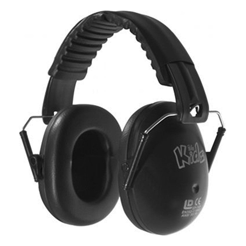 Hearing Aids Are Music To The Ears Of This Concert Violinist: Edz Kids Ear Defenders - Black