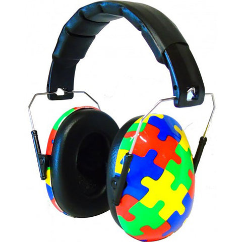 Edz Kids Ear Defenders Designer Capz - Jigsaw