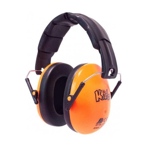 Edz Kids Ear Defenders - Gloss Orange