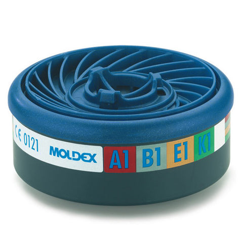 Moldex 5984 FFABEK1 P3 RD Disposable Half Mask