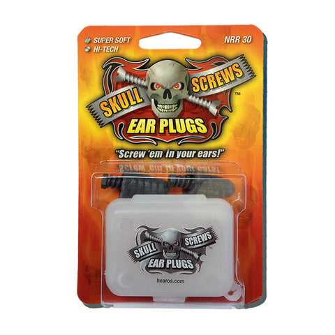 Hearos Skull Screws Earplugs