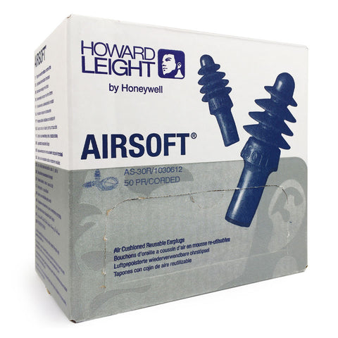 Howard Leight - Airsoft Corded Reusable EarPlug