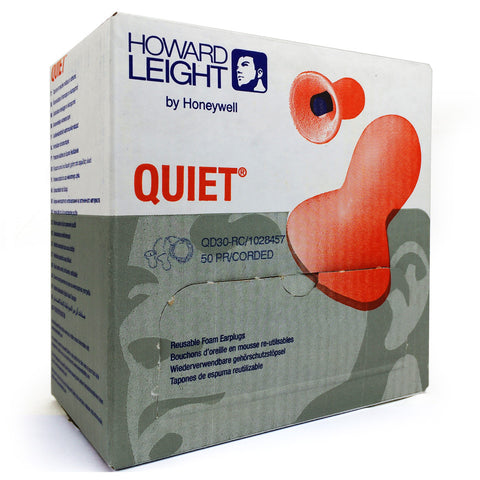 Howard Leight - Quiet Uncorded Reusable EarPlug