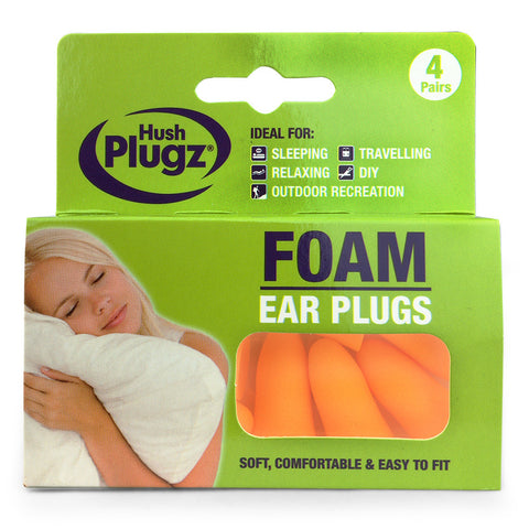 Hush Plugz Foam Ear Plugs