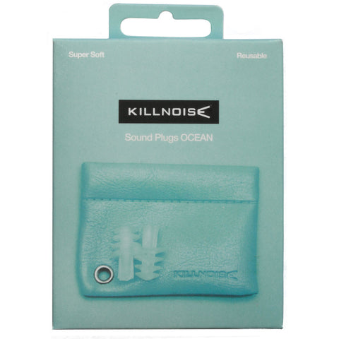 Killnoise Sound Earplugs - 1 Pair - Ocean