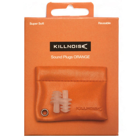 Killnoise Sound earplugs - 1 pair - Orange