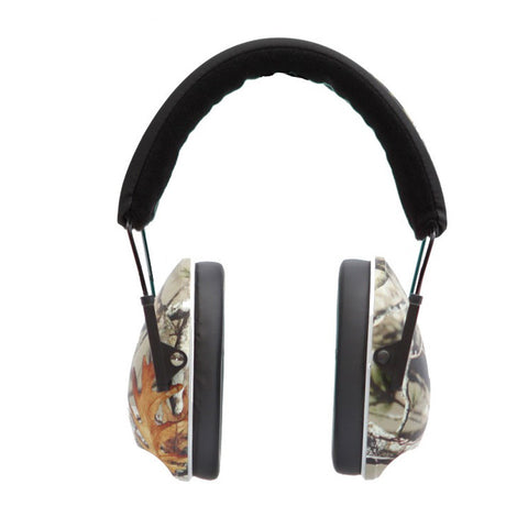 Mack's Shooters Double Up Ear Defenders - Camo