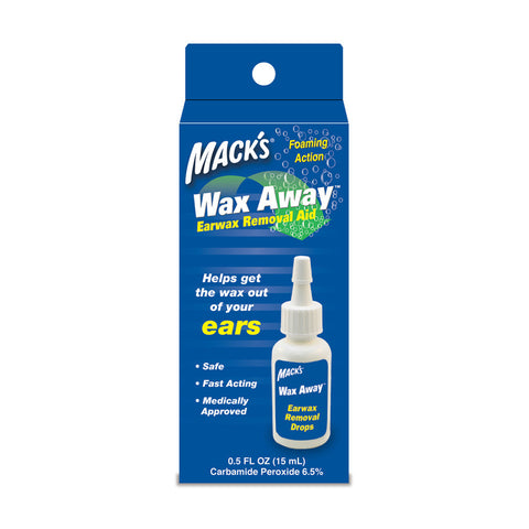 Mack's Wax Away - Ear Wax Removal Aid