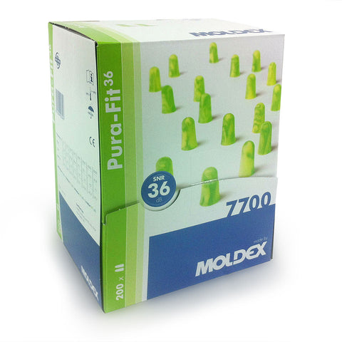 Moldex 7700 Purafit - Box of 200 Pairs