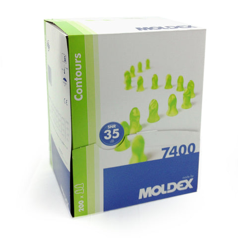 Moldex 7400 Contours - Box of 200 Pairs