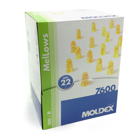Moldex 7600 Mellows - Box of 200 Pairs