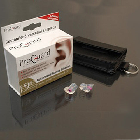 ProGuard Custom Musicians and DJs Earplugs