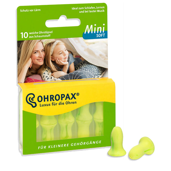 Ohropax Mini Soft Foam Earplugs