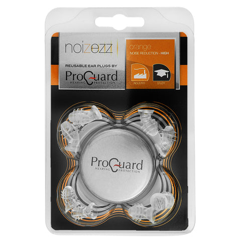 ProGuard Noizezz Universal Earplugs SNR 19 dB (Orange)