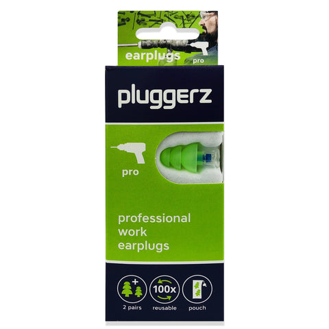 Pluggerz Pro Earplugs - NEW DESIGN