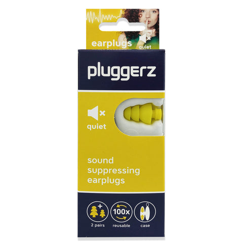 Pluggerz Quiet Earplugs - NEW DESIGN