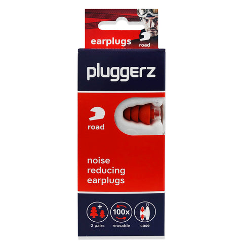 Pluggerz Road Earplugs - NEW DESIGN
