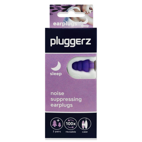 Pluggerz Sleep Earplugs - NEW DESIGN