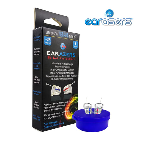Earasers - Musicians Hi-Fi Ear Plugs