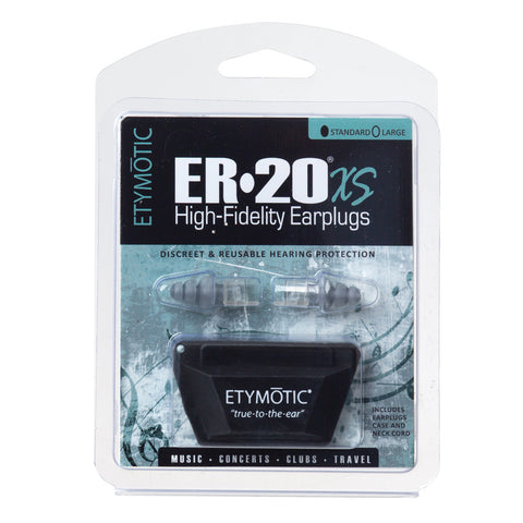 Etymotic Research ER20XS Earplugs - Standard Size