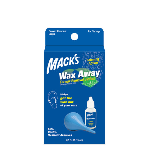 Mack's Wax Away - Ear Wax Removal System