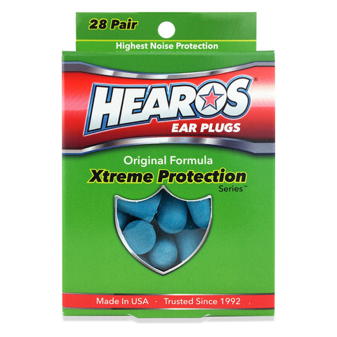 Hearos Xtreme Protection Series Earplugs - 28 Pairs
