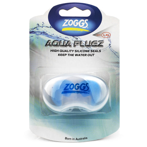 Zoggs Aqua Plugz Swimming Earplugs for Adults