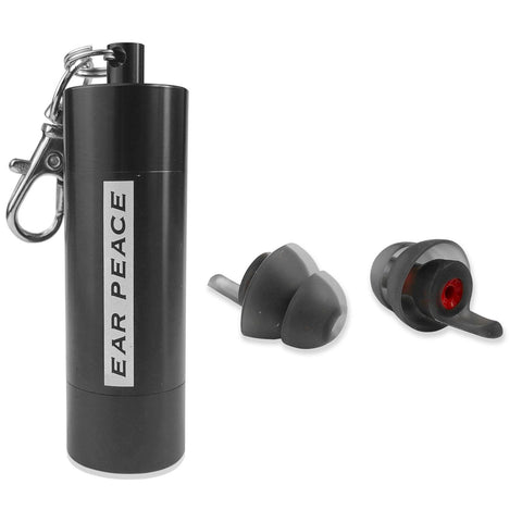 EarPeace 'M' Motorsport Earplugs  - Black Case