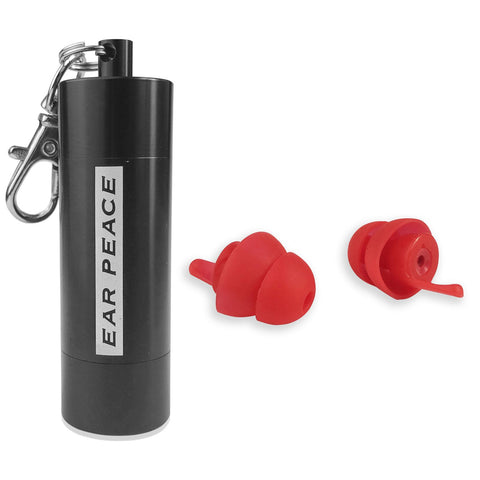 EarPeace 'S' Safety Earplugs  - Black Case