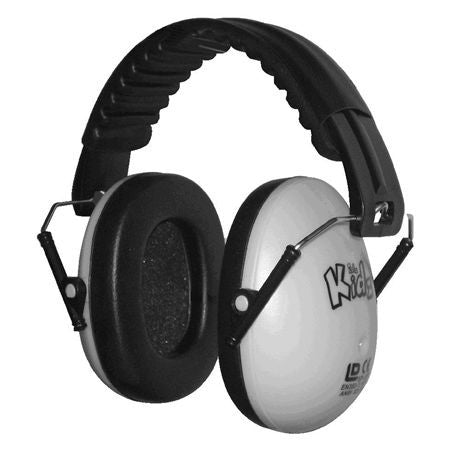 Edz Kids Ear Defenders - White