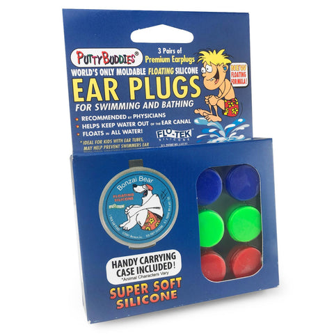 Putty Buddies 3 Pairs - Blue, Green & Red