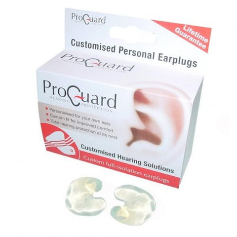ProGuard Custom Full Blocking (Isolation) Earplugs
