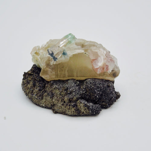 Tourmaline on Quartz with Lepidolite  *