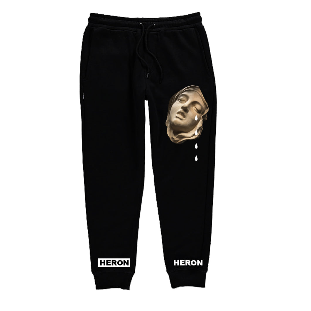 Broken Hearted joggers (Black)