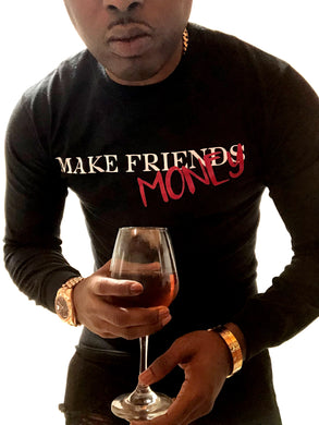Make money Longsleeve tshirt (black)