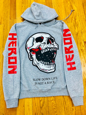 Speed Demon Hoodie (grey)