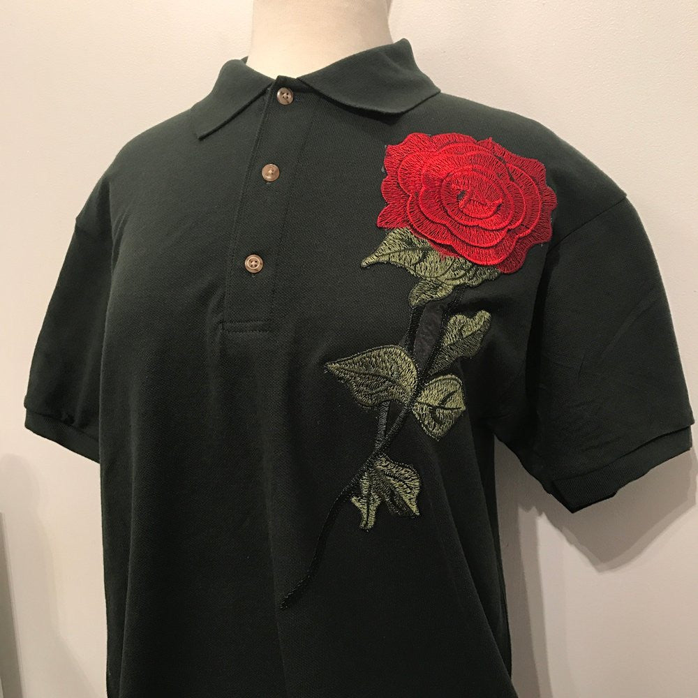 ROSE POLO (ARMY GREEN)