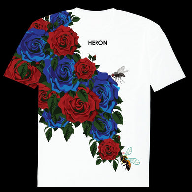 ROSE BUSH T-SHIRT (WHITE)