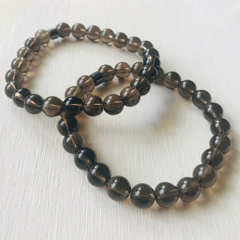 Smoky Quartz - Healing Stone and Energy Bracelet / Detox / Positivity