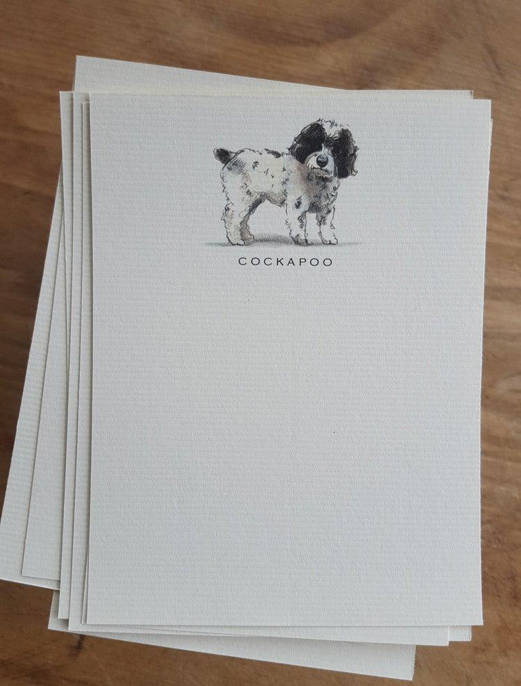 Buy elegant Cockapoo Notecards for $11.00 by Rachel Canada Artist