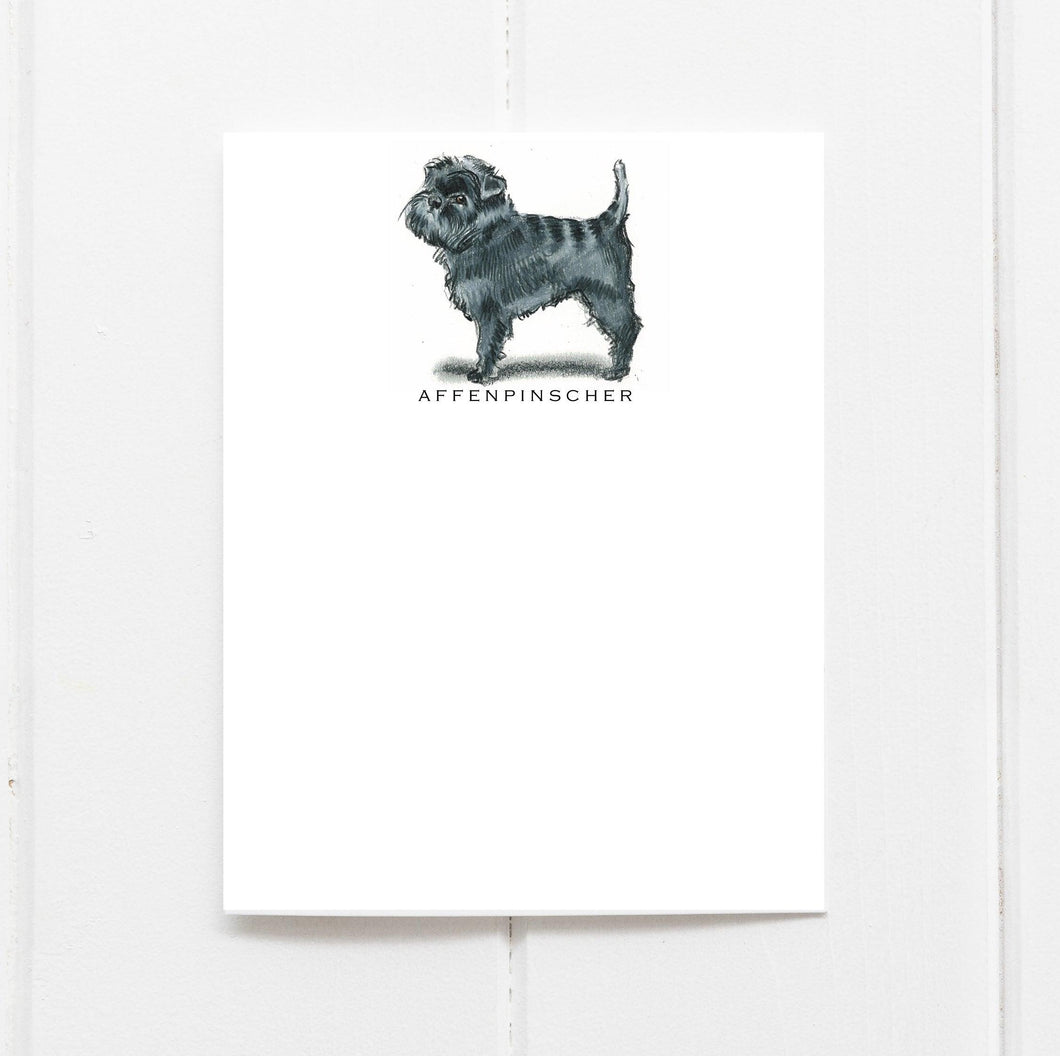 affenpinscher note card