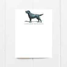 Black Labrador Retriever Note Cards