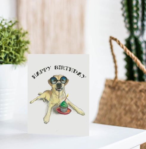 Dog Greeting Card - Fable & Sage