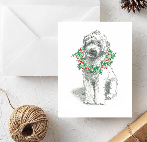 Doodle Holiday Card Classic