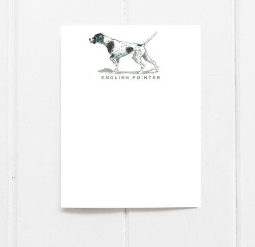 English Pointer Note Cards