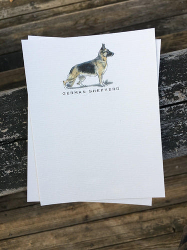 Buy elegant German Shepherd Dog Notecards for $11.00 by Rachel Canada Artist