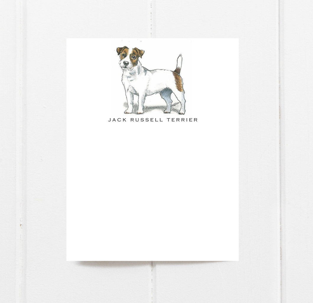 Jack Russell Terrier note card