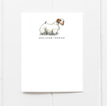sealyam terrier note cards